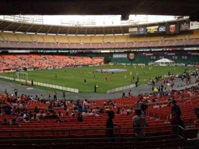 RFK Stadium, Abschnitt: 314, Reihe: 8, Platz: 8