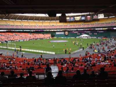 RFK Stadium, Abschnitt: 315, Reihe: 9, Platz: 10