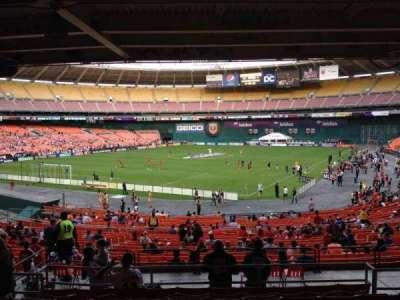 RFK Stadium, Abschnitt: 316, Reihe: 9, Platz: 8