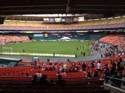 RFK Stadium, Abschnitt: 317, Reihe: 9, Platz: 12