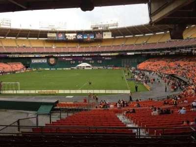 RFK Stadium, Abschnitt: 318, Reihe: 9, Platz: 7