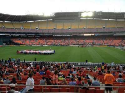 RFK Stadium, Abschnitt: 331, Reihe: 7, Platz: 8