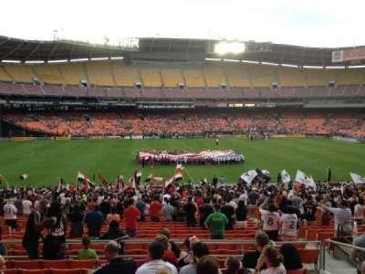 RFK Stadium, Abschnitt: 334, Reihe: 9, Platz: 11