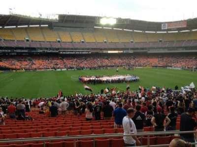 RFK Stadium, Abschnitt: 335, Reihe: 6, Platz: 11