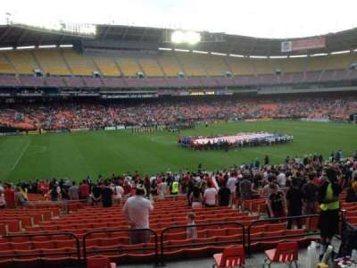 RFK Stadium, Abschnitt: 336, Reihe: 4, Platz: 11