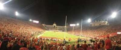 Los Angeles Memorial Coliseum, Abschnitt: 15L, Reihe: 23, Platz: 13