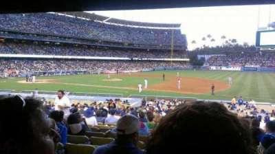 Dodger Stadium, Abschnitt: 26FD, Reihe: W, Platz: 5
