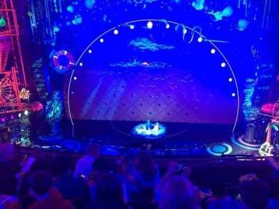 Palace Theatre (Broadway), Abschnitt: Mezz center, Reihe: D, Platz: 108