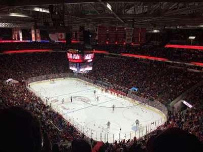 PNC Arena, Abschnitt: 318, Reihe: F, Platz: 9