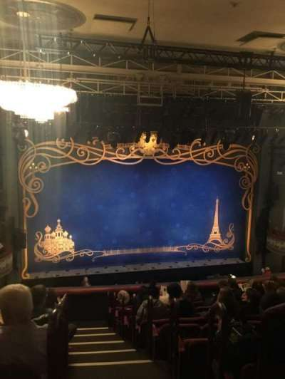 Broadhurst Theatre, Abschnitt: Mezzanine, Reihe: K, Platz: 1 and 3