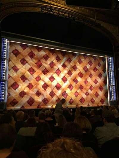 Brooks Atkinson Theatre, Abschnitt: Orchestra, Reihe: M
