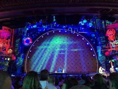 Palace Theatre (Broadway), Abschnitt: Orchestra Center, Reihe: Q, Platz: 104