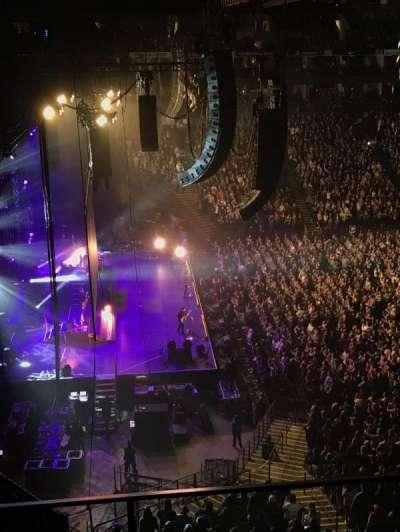 Oracle Arena, Abschnitt: 219, Reihe: 3, Platz: 4