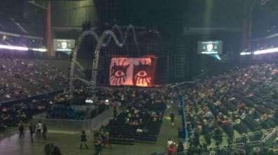 Jacksonville Veterans Memorial Arena, Abschnitt: 107, Reihe: T, Platz: 21