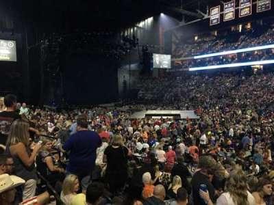 Jacksonville Veterans Memorial Arena, Abschnitt: 113, Reihe: M, Platz: 5