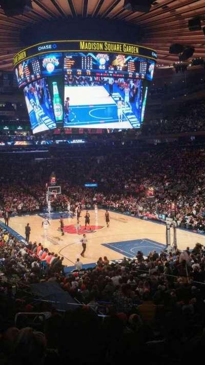 Madison Square Garden, Abschnitt: 111, Reihe: 18, Platz: 1