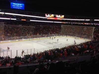 Wells Fargo Center Abschnitt PS22