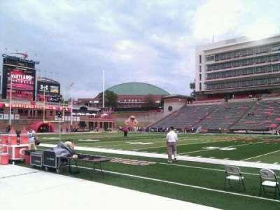 Maryland Stadium, Abschnitt: 6, Reihe: b, Platz: 17