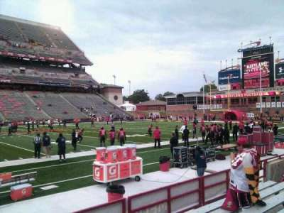 Maryland Stadium, Abschnitt: 24, Reihe: g, Platz: 10