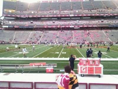 Maryland Stadium, Abschnitt: 24, Reihe: h, Platz: 22