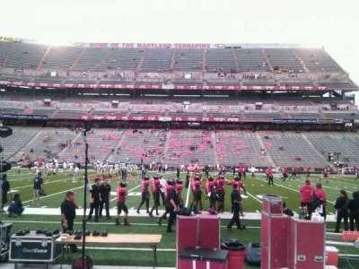 Maryland Stadium, Abschnitt: 25, Reihe: e, Platz: 19