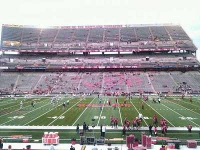 Maryland Stadium, Abschnitt: 25, Reihe: ff, Platz: 14