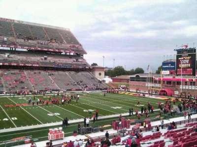 Maryland Stadium, Abschnitt: 24, Reihe: gg, Platz: 4