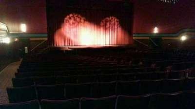 Landis Theater, Abschnitt: orchestra left, Reihe: x, Platz: 15