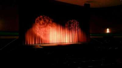 Landis Theater, Abschnitt: orchestra left, Reihe: p, Platz: 17