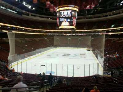 Wells Fargo Center Abschnitt 120