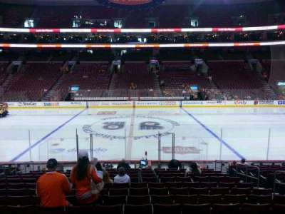 Wells Fargo Center Abschnitt 113