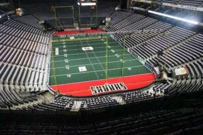 Jacksonville Veterans Memorial Arena, Abschnitt: 313, Reihe: F, Platz: 7