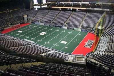 Jacksonville Veterans Memorial Arena, Abschnitt: 317, Reihe: G, Platz: 2