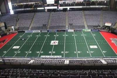 Jacksonville Veterans Memorial Arena, Abschnitt: 320, Reihe: F, Platz: 8