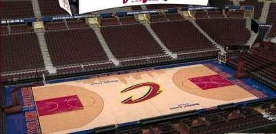 Quicken Loans Arena, Abschnitt: 224, Reihe: 3