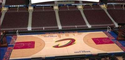 Quicken Loans Arena, Abschnitt: 225, Reihe: 3