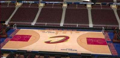 Quicken Loans Arena, Abschnitt: 226, Reihe: 3