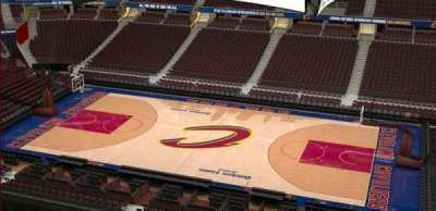 Quicken Loans Arena, Abschnitt: 227, Reihe: 3