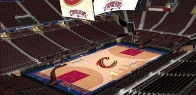 Quicken Loans Arena, Abschnitt: 204, Reihe: 3