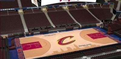 Quicken Loans Arena, Abschnitt: 207, Reihe: 3