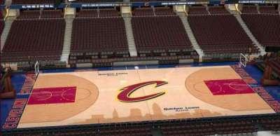 Quicken Loans Arena, Abschnitt: 208, Reihe: 3