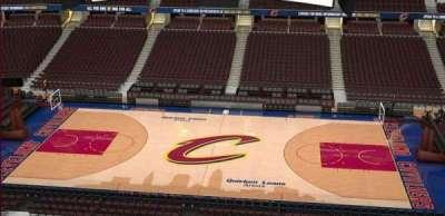 Quicken Loans Arena, Abschnitt: 209, Reihe: 3