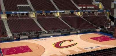 Quicken Loans Arena, Abschnitt: C107, Reihe: 20