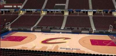 Quicken Loans Arena, Abschnitt: C109