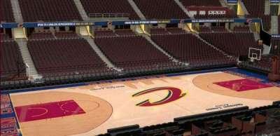 Quicken Loans Arena, Abschnitt: C124, Reihe: 20