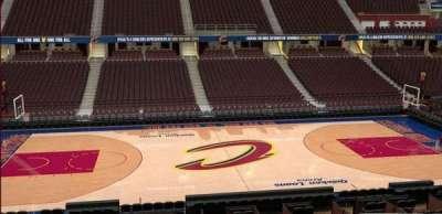 Quicken Loans Arena, Abschnitt: C125, Reihe: 20