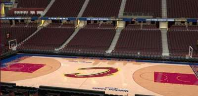 Quicken Loans Arena, Abschnitt: C126, Reihe: 20
