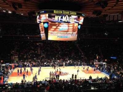 Madison Square Garden Abschnitt Suite 45 Heimat Von New York Rangers New York Knicks St
