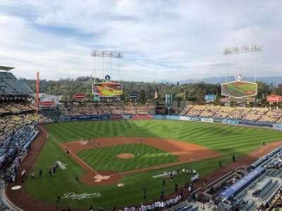Dodger Stadium, Abschnitt: 4RS, Reihe: A, Platz: 9