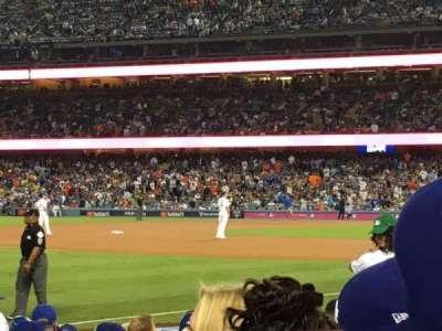 Dodger Stadium, Abschnitt: 41FD, Reihe: D, Platz: 5